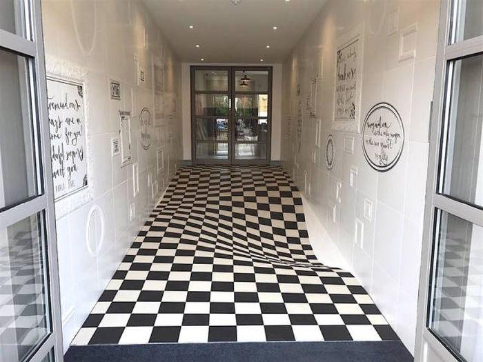 Прикольные оптические иллюзии (30 фото)