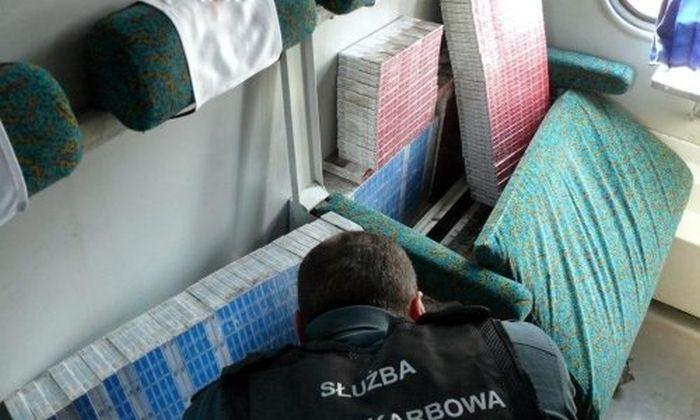 Неудачные попытки контрабанды сигарет на Белорусско-Польской границе (25 фото)