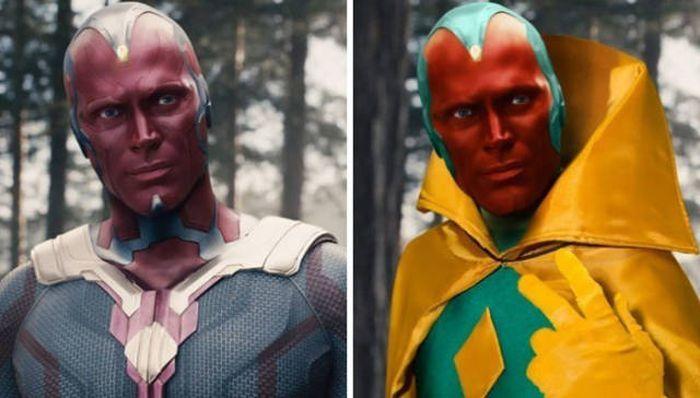 Мстители в комиксах и в кино (14 фото)