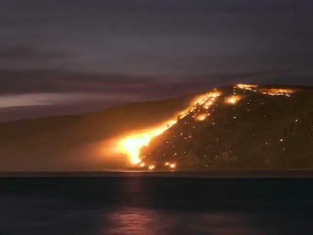 Лесные пожары охватили Дальний Восток