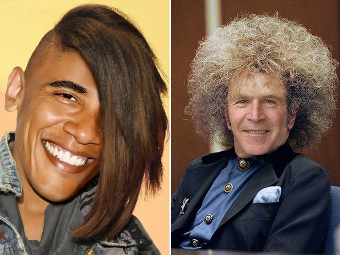Если бы у известных политиков были странные стрижки (20 фото)