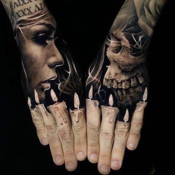 Реалистичные татуировки (35 фото)