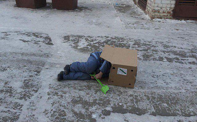 Современные дети тоже могут обходиться без интернета (35 фото)