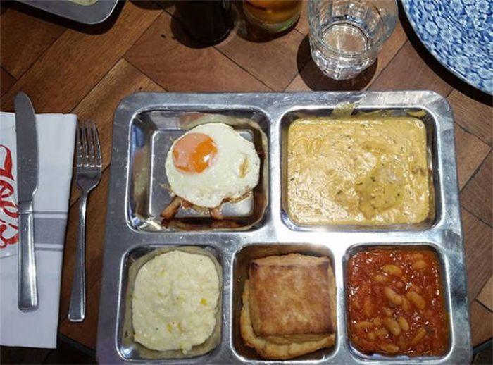 Нестандартная подача еды (37 фото)