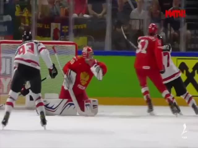 Сборная России по хоккею проиграла сборной Канады и вылетела с чемпионата мира