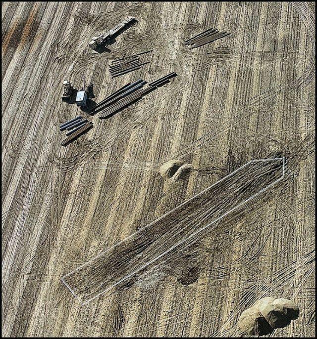 Как американский фермер обнаружил корабль, затонувший в 1856 году (13 фото)