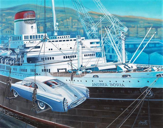 Печальная судьба великолепного концепт-кара Chrysler Norseman (11 фото)