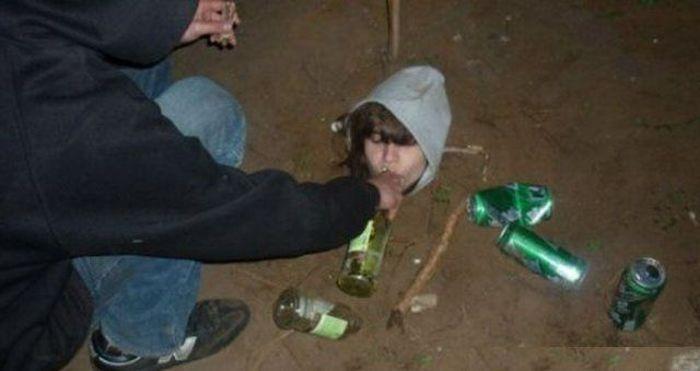 Пьяный юмор (34 фото)