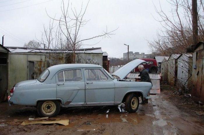 Восстановление ГАЗ-21 (16 фото)