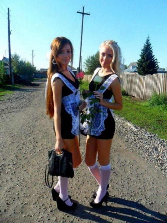 Современные выпускницы (29 фото)