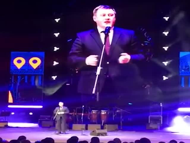 Странное выступление мэра Новосибирска Анатолия Локтя