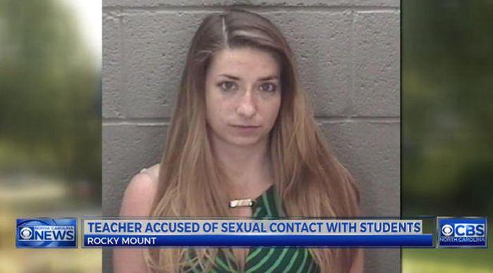 Учительницы, замешанные в секс-скандалах (30 фото)
