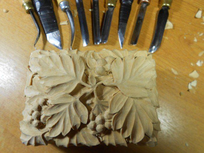 Произведение искусства из деревянного бруска (5 фото)