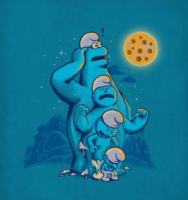Необычные рисунки Бена Чена (31 картинка)