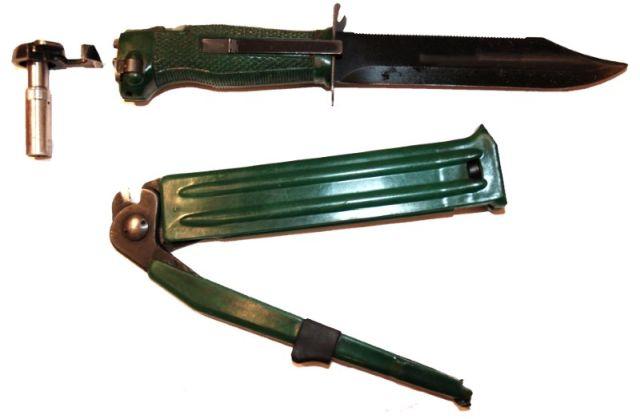 Нож разведчика стреляющий (7 фото)