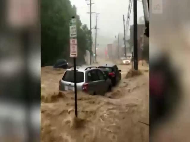 Наводнение в американском штате Мэриленд