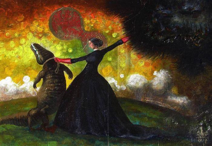 Жуткие картины Сержа Сунне (18 рисунков)
