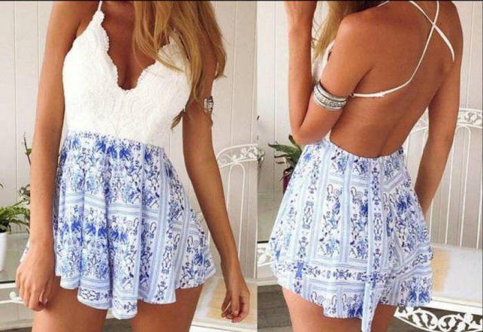 Девушки в легких летних платьях (25 фото)