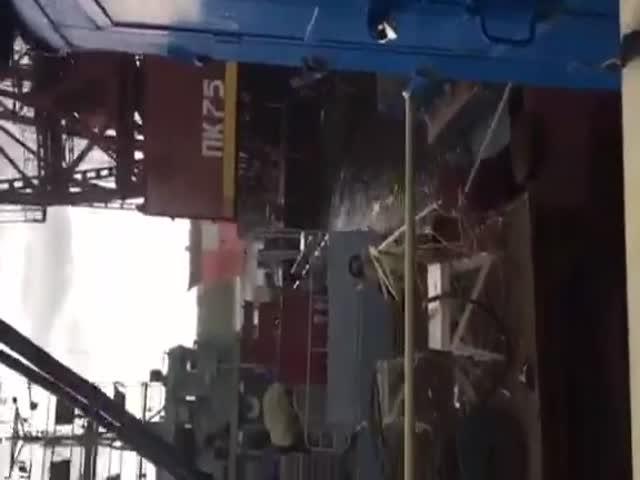 Авария на Зеленодольском судостроительном заводе имени А.М. Горького