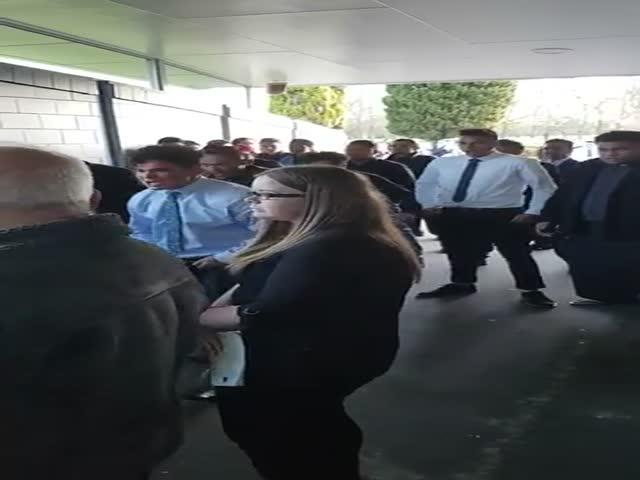 Ритуальный танец хака
