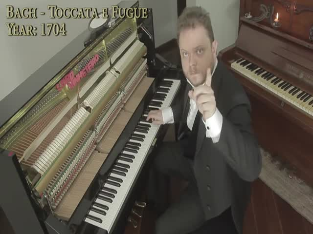 Эволюция музыки с 1680 по 2017 годы