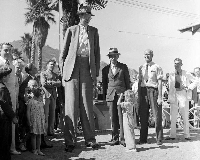 Роберт Уодлоу - самый высокий человек (14 фото + видео)