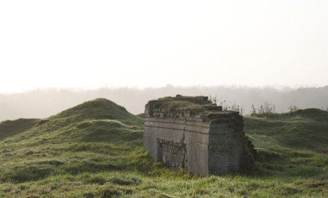 Места сражений Первой мировой войны спустя 100 лет (16 фото)