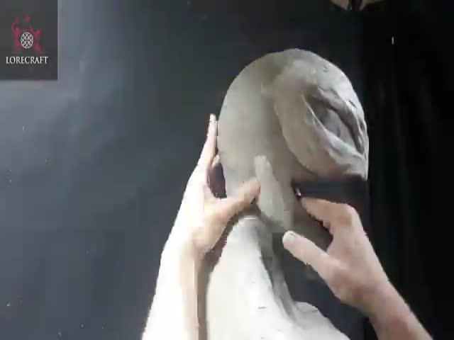 Крутая скульптура Венома