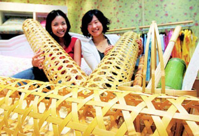 Для чего нужно это бамбуковое изделие? (4 фото)