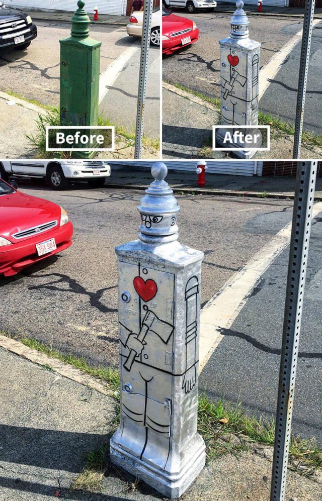 Яркие граффити на улицах Нью-Йорка (40 фото)