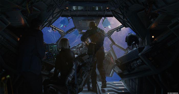 Как создавались спецэффекты фильма «Мстители: Война бесконечности» (22 фото)