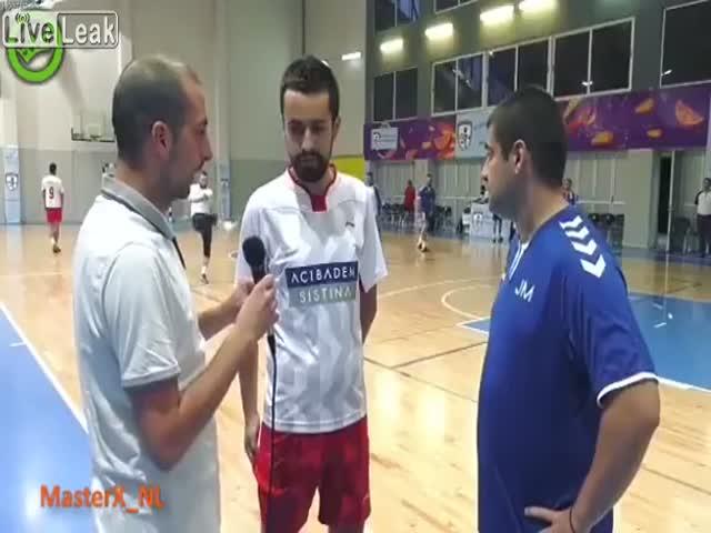 Неудачное интервью
