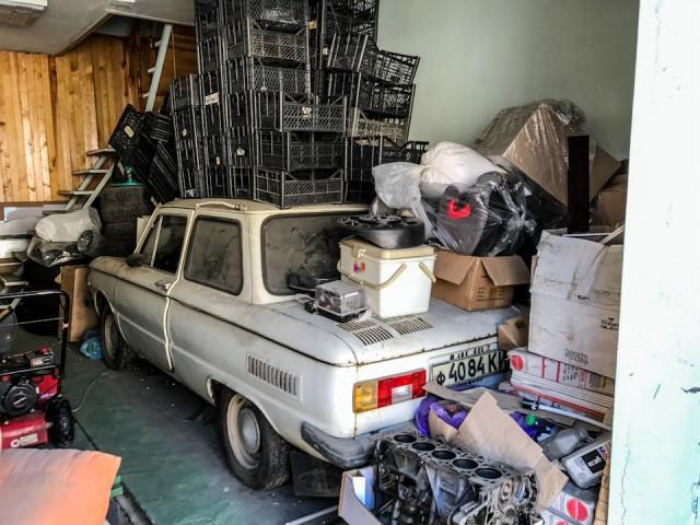 """ЗАЗ-968М """"Запорожец"""" с пробегом 4670 км (18 фото)"""