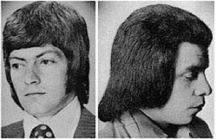 Модные прически 70-х (8 фото)