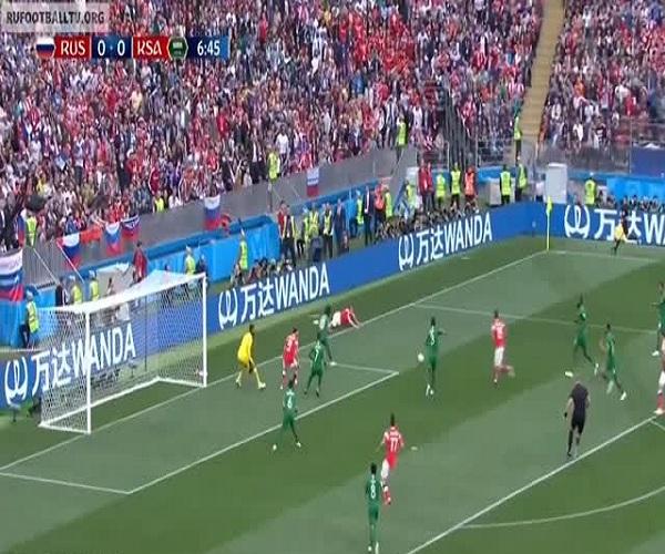 Сборная России обыграла сборную Саудовской Аравии со счетом 5:0