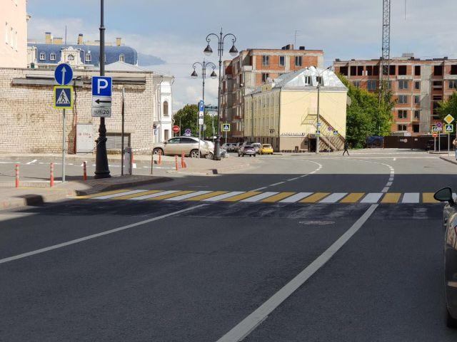 Приключения 3D «зебры» в Казани (2 фото)
