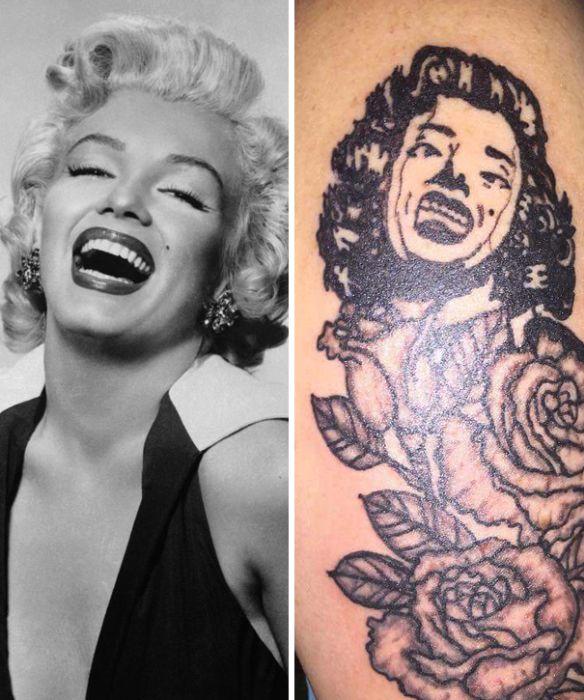 Не самые удачные татуировки (30 фото)