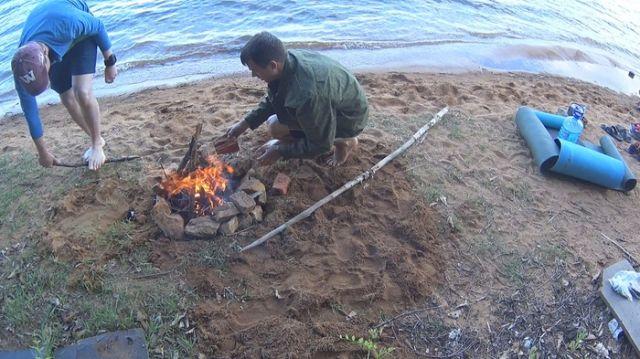 Как сделать походную баню (5 фото)