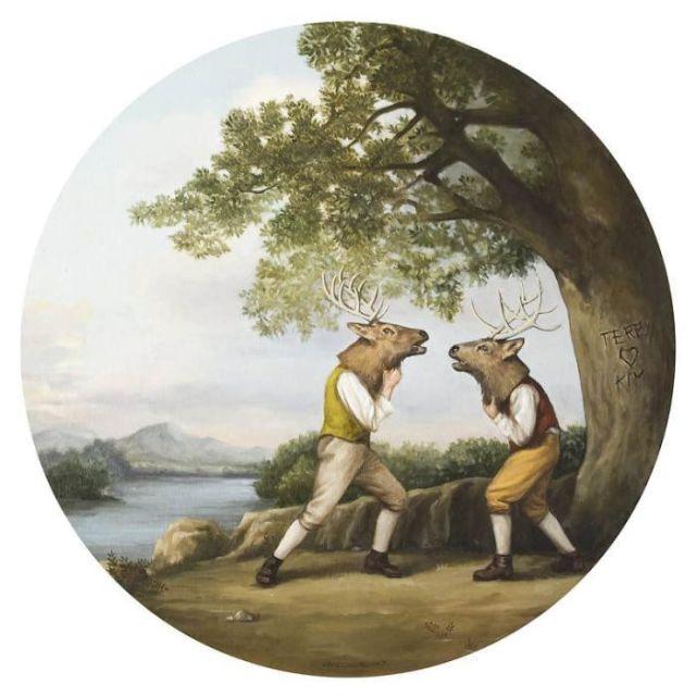 Связь человека и природы в рисунках Тони Хамель (22 фото)