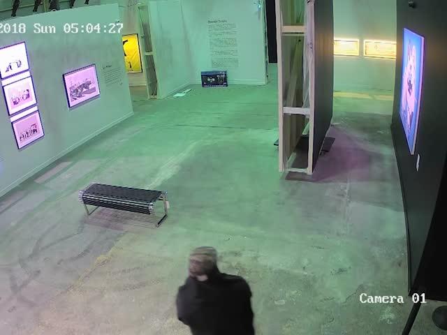 Похищение картины Бэнкси в Торонто