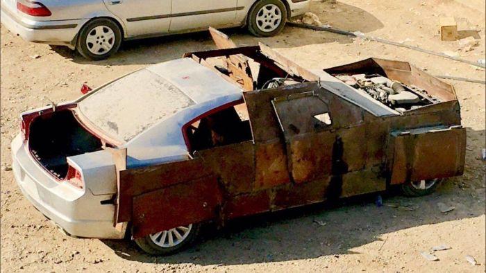 "Dodge Charger в ""тюнинге"" боевиков ИГИЛ (4 фото)"