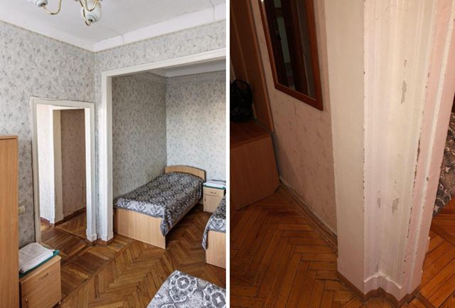 Уругвайские болельщики были разочарованы гостиницей Екатеринбурга (5 фото)