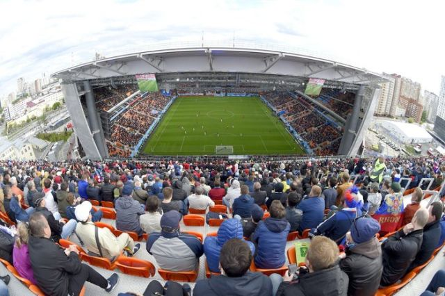 Стадион «Екатеринбург Арена» в Екатеринбурге (2 фото)