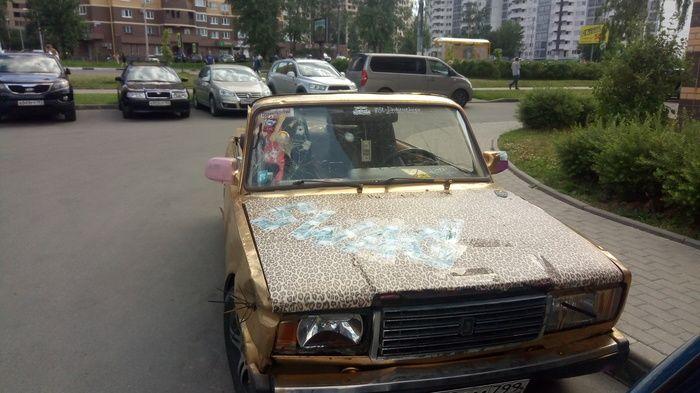 Кабриолет с намеком на роскошь (3 фото)