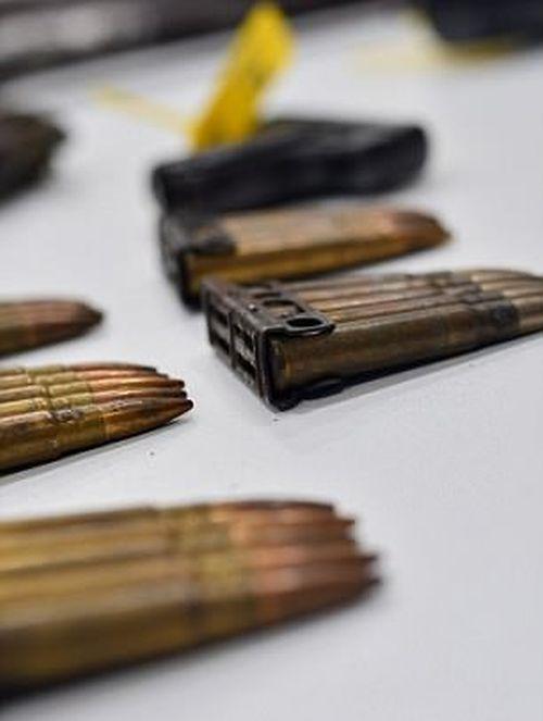 Незарегистрированное оружие, собранное полицией по амнистии (10 фото)