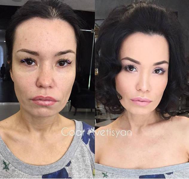 На что способен макияж (30 фото)