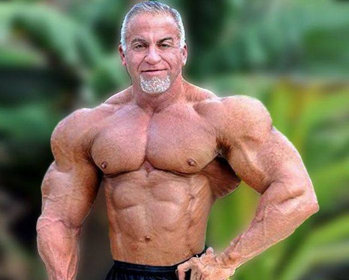 Пожилые мужчины, остающиеся в прекрасной форме (15 фото)