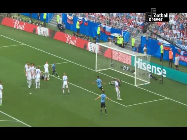 Уругвай - Россия: поражение со счетом 3:0