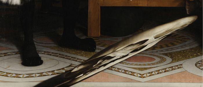 Оптическая иллюзия, созданная художником в 1533 году (5 фото + видео)
