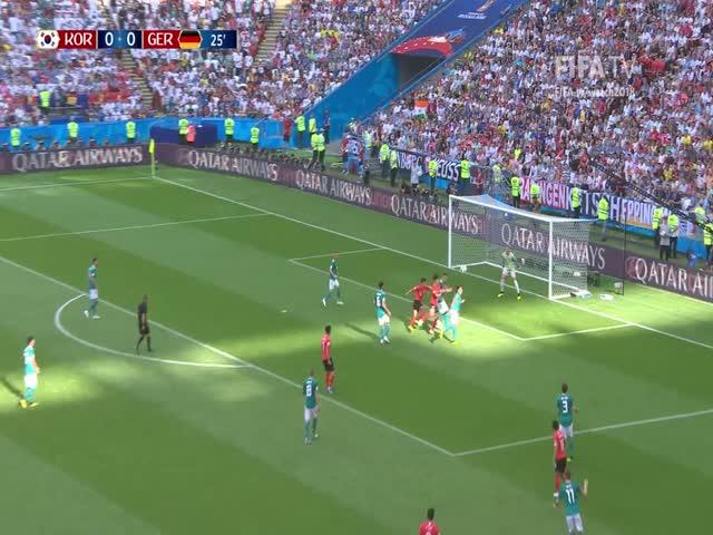 Германия вылетела из Чемпионата мира, проиграв Южной Корее